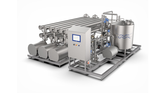Alfa Laval membrane filtration systems for animal blood concentration